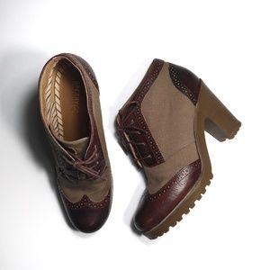 Sperry Topsider heeled bootie